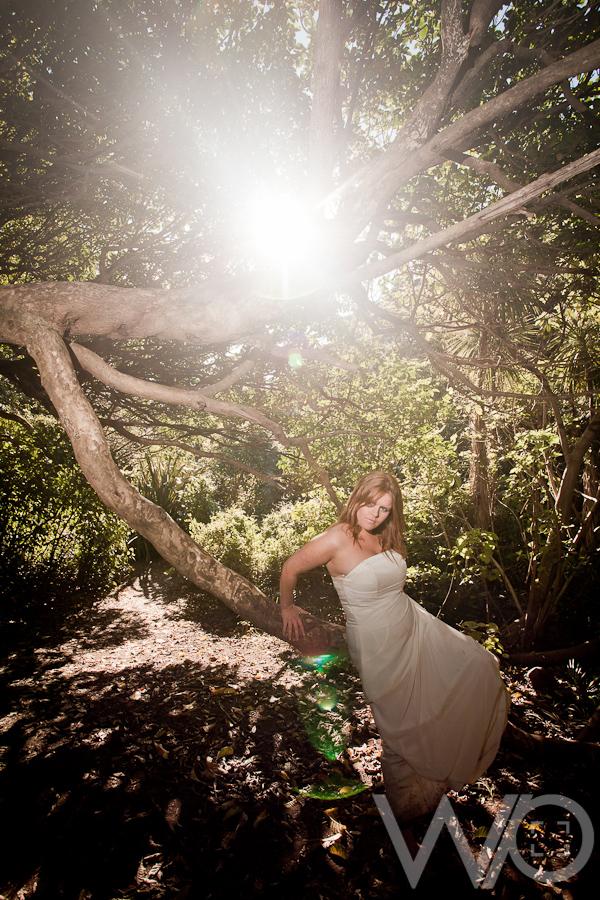 Sun Flare Wedding